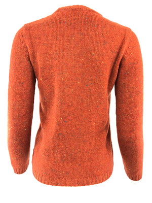 BUTTON DOWN WOMEN'S CABLE KNIT CASHMERE SWEATER - 2 COLOR OPTIONS