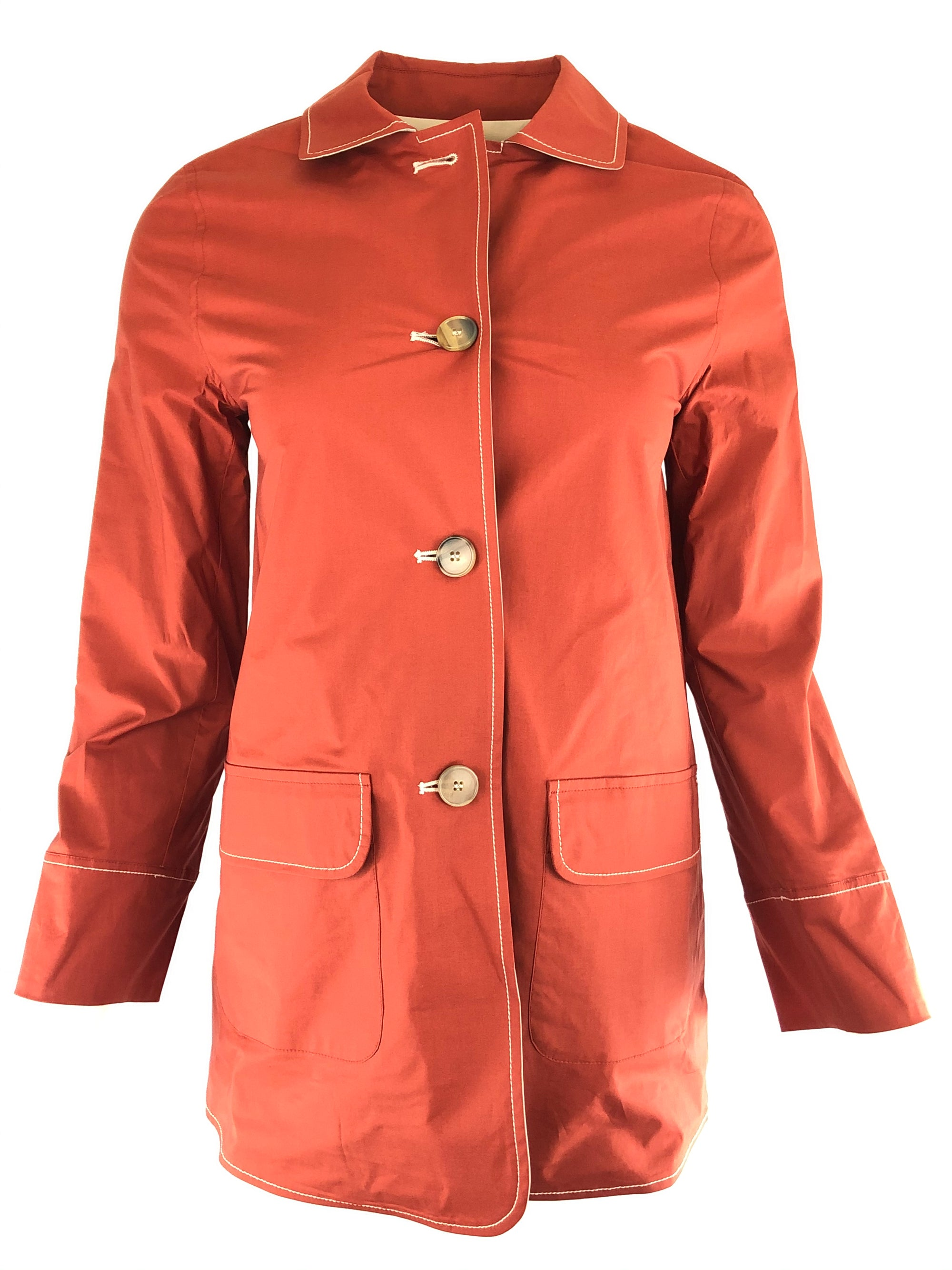 ROSSO 35 WOMEN'S REVERSIBLE JACKET - CINNABAR/TAN