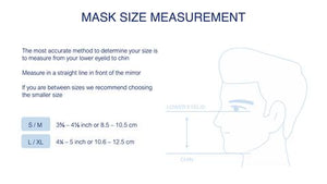 REUSABLE CLOTH MASK - 2 SIZES