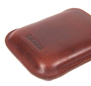 BARBOUR WAXED LEATHER HIP FLASK GIFT BOX (4579958292557)