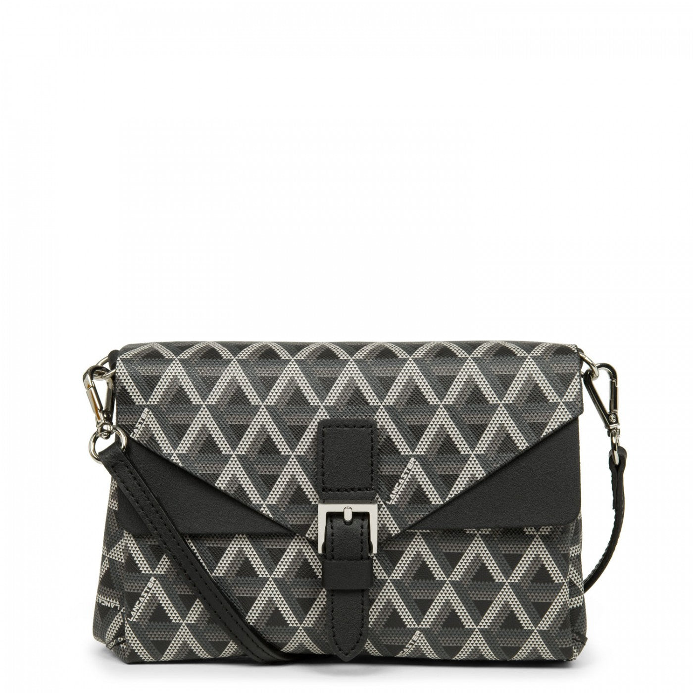 LANCASTER IKON SMALL CROSSBODY BAG - BLACK
