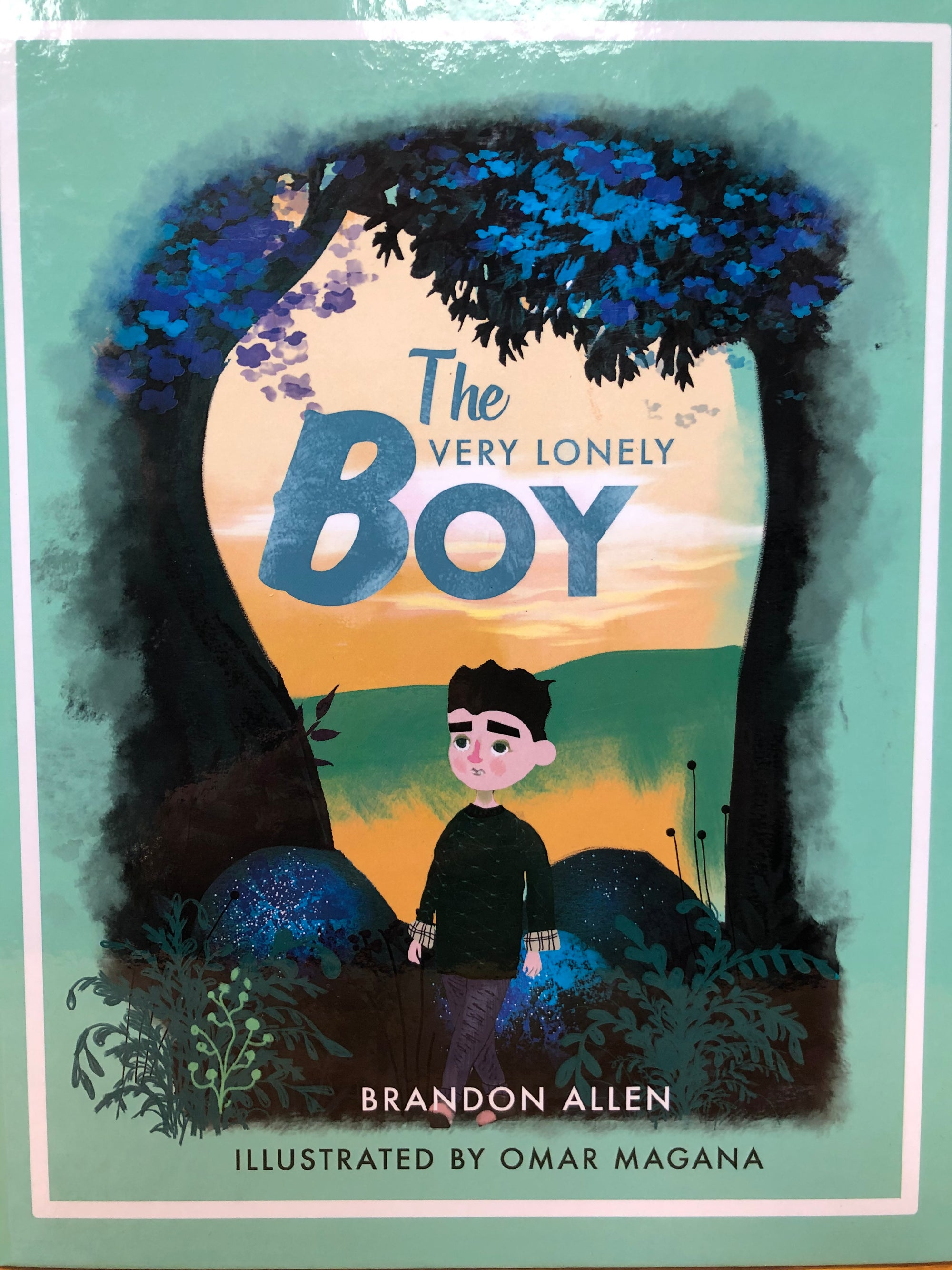 'THE VERY LONELY BOY' CHILDREN'S BOOK