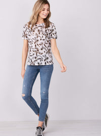 LINEN T-SHIRT WITH PALM LEAF PRINT (4588774785101)