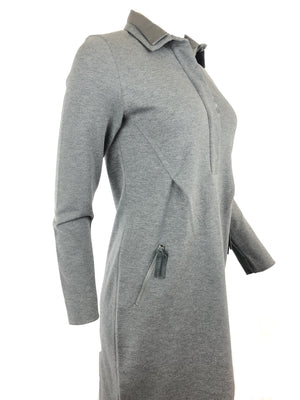 TONET DRESS IN GRAPHITE