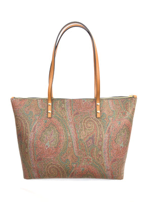 DOUBLE SIDED MULTI-COLOR ETRO TOTE