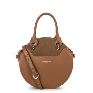 LANCASTER VENDÔME LUNE CIRCLE HANDLE BAG - CAMEL