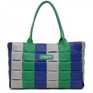 LANCASTER STUDIO ENLACÉ HANDLE BAG - GREEN