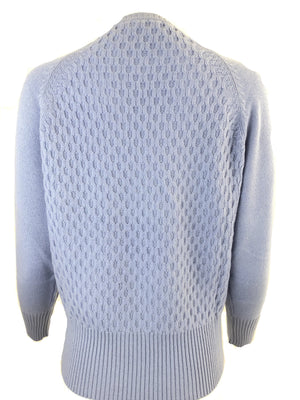 CASHMERE CREW KNIT WOMEN'S SWEATER
