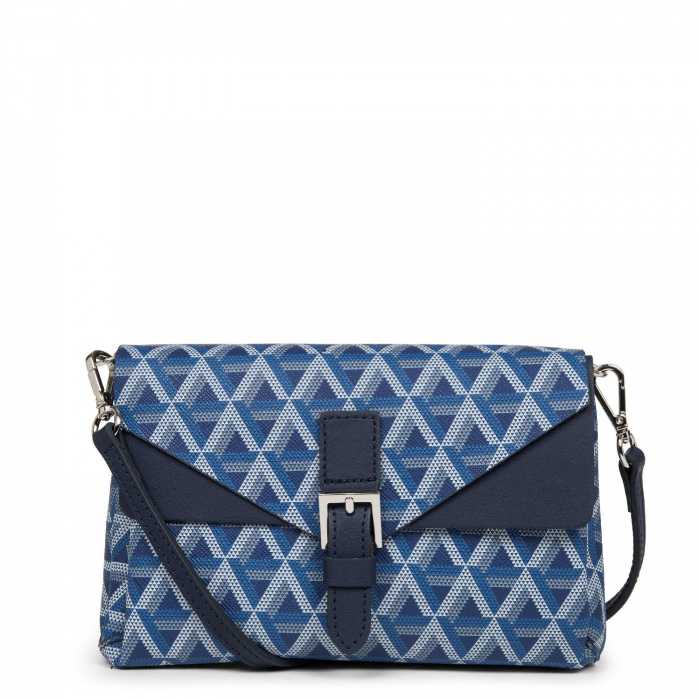 LANCASTER IKON SMALL CROSSBODY BAG - BLUE