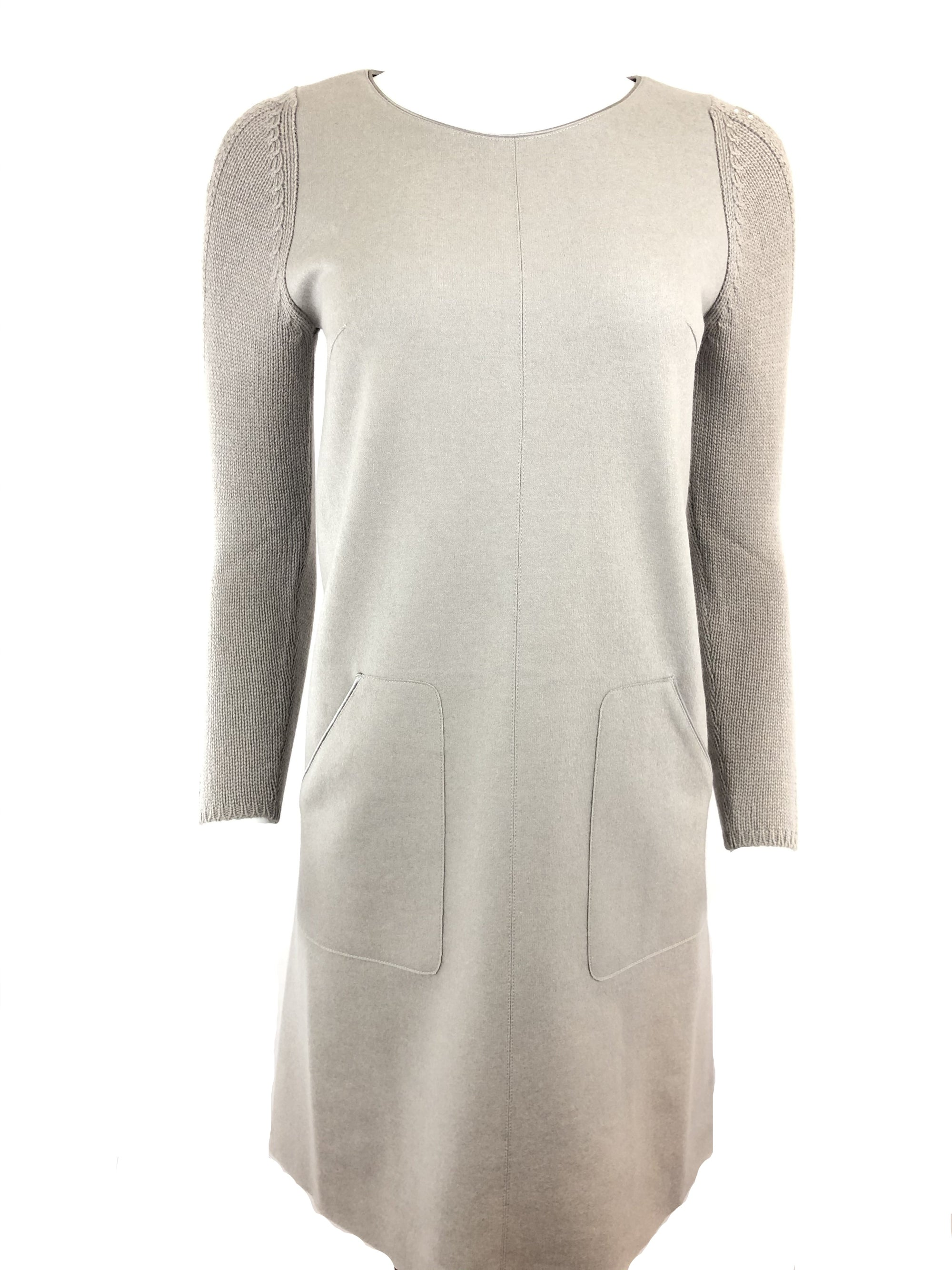 TONET DRESS IN TAUPE
