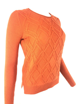 BUTTON DOWN WOMEN'S ARAN CABLE KNIT SWEATER - 2 COLOR OPTIONS