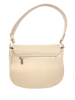 LANCASTER CROSS BODY BAG - TAUPE