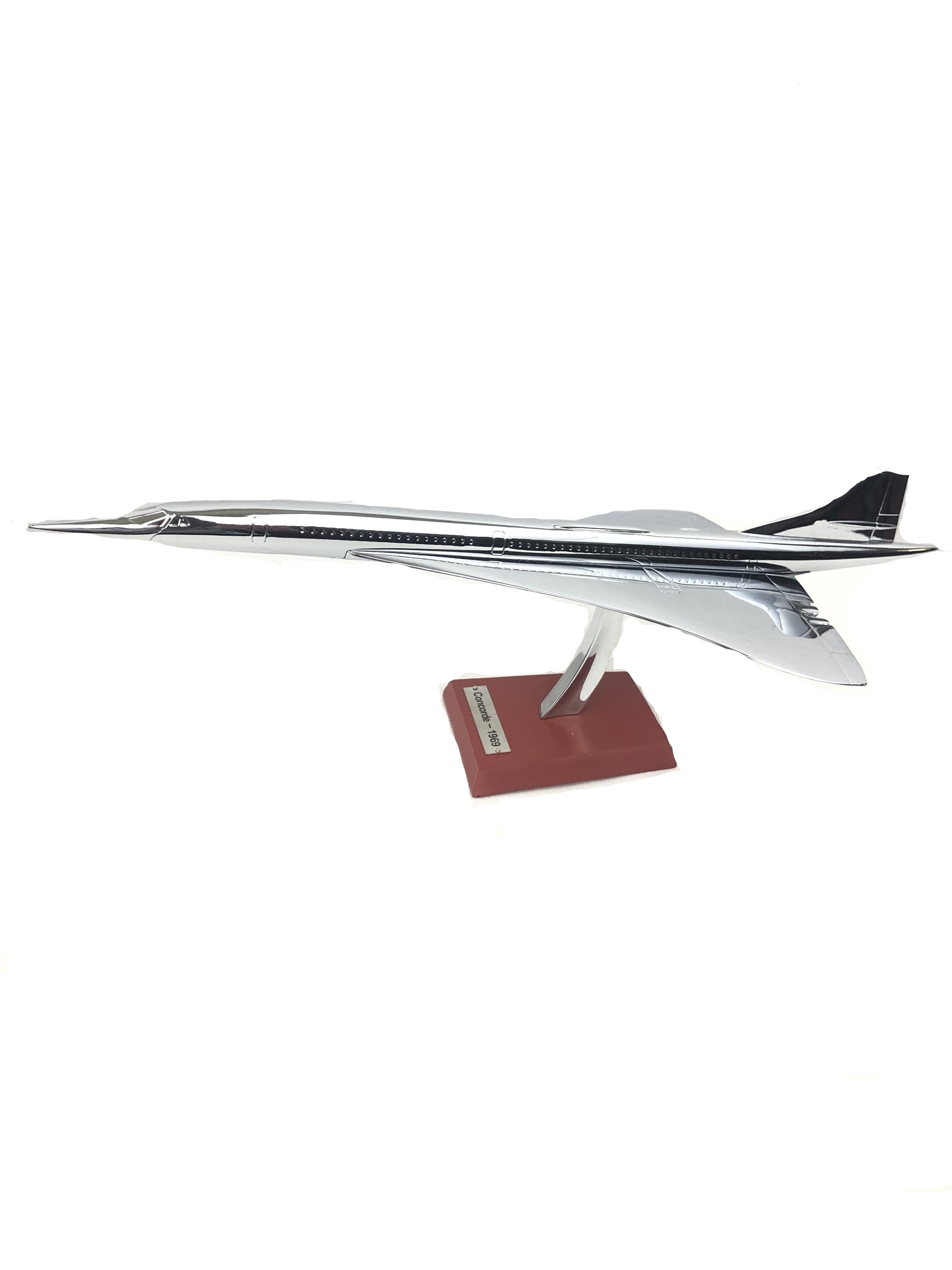BUTTON DOWN CONCORD AEROPLANE SCALE MODEL