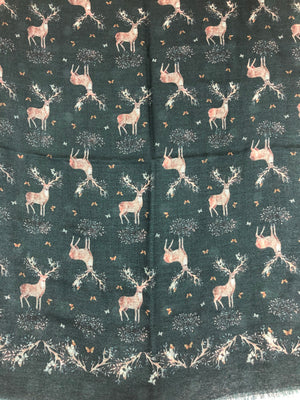 CALABRESE 1924 STAG SCARF - 2 COLOR OPTIONS
