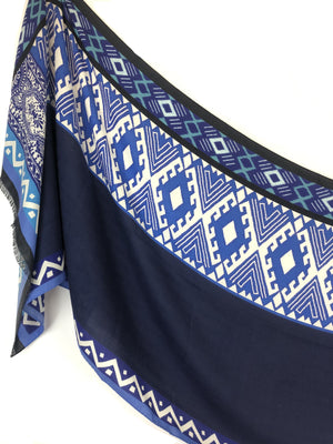 ETRO GEOMETRIC SCARF - 2 COLOR OPTIONS