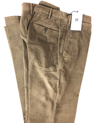 PT TORINO MEN'S FINE STRETCH CORDUROY PANTS - 4 COLOR OPTIONS