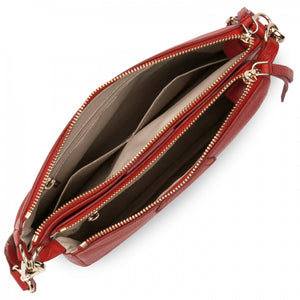 LANCASTER DUNE DOUBLE CLUTCH - RED
