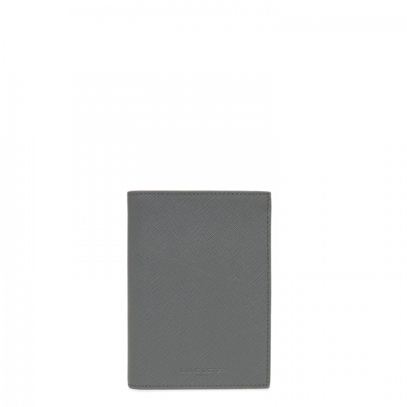 LANCASTER LARGE TRAVEL WALLET - GREY