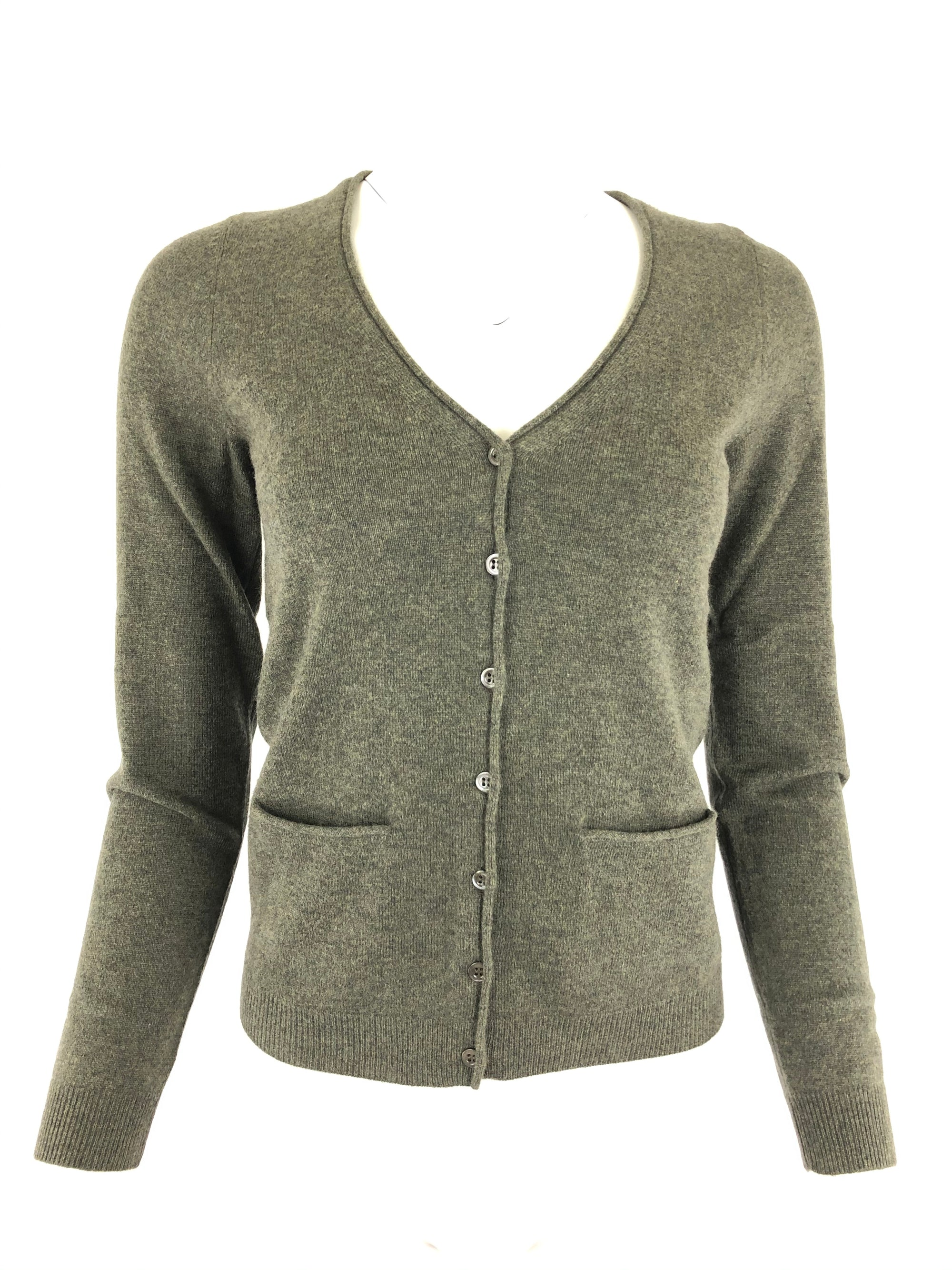 REPEAT WOMEN'S CASHMERE CARDIGAN - 2 COLOR OPTIONS
