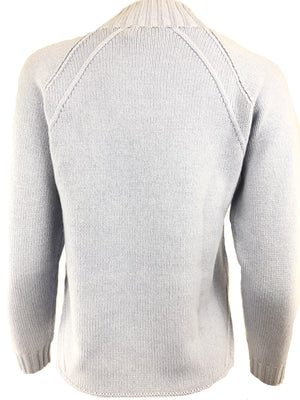 TONET SWEATER IN POWDER BLUE