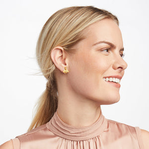 JULIE VOS BEE STUD EARRINGS
