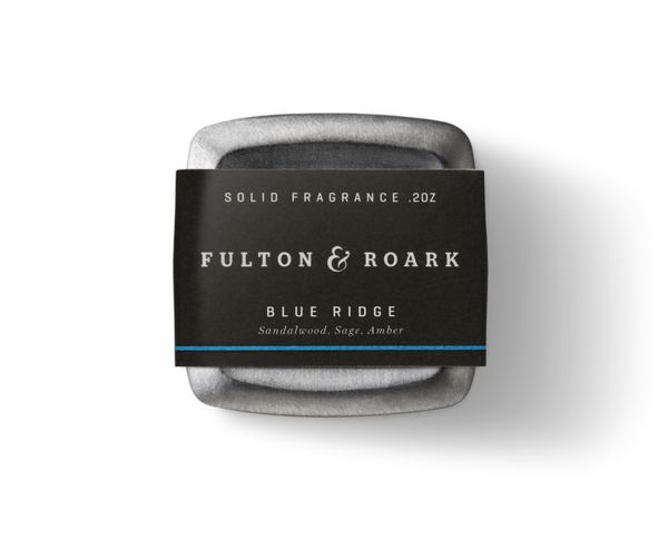 FULTON & ROARK SOLID COLOGNE - BLUE RIDGE