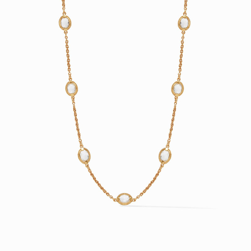 CALYPSO DEMI DELICATE STATION NECKLACE - 16/17/18 INCH (4666519322701)