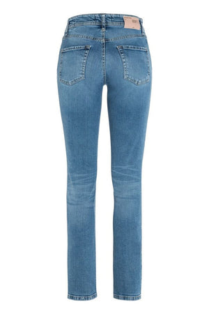 CAMBIO PARLA WOMEN'S PANT - BLUE WASHED