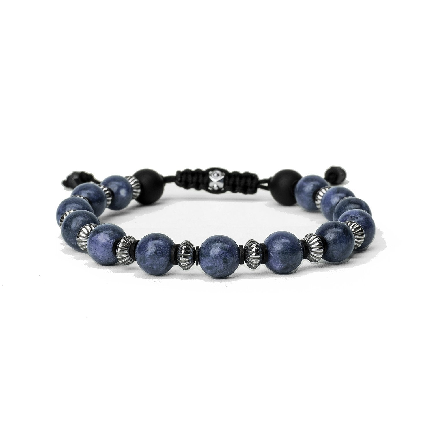 KENTON MICHAEL LARGE BLUESTONE SEQUENCE BRACELET