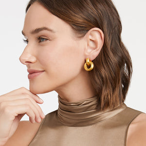 JULIE VOS CASSIS DOORKNOCKER EARRING