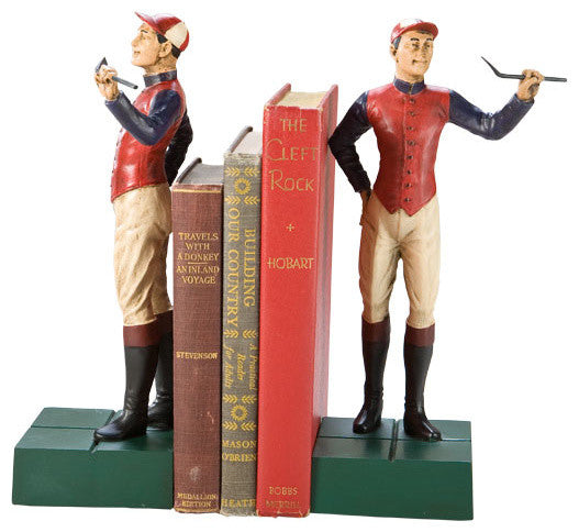JOCKEY BOY BOOKENDS - ARMS UP (4596499578957)