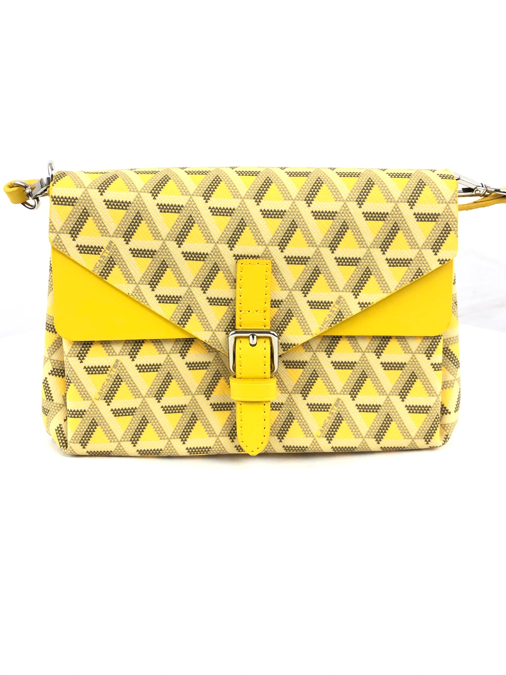 LANCASTER IKON SMALL CROSSBODY BAG - YELLOW