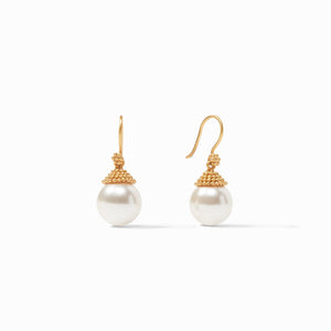 FLORENTINE PEARL DROP EARRINGS