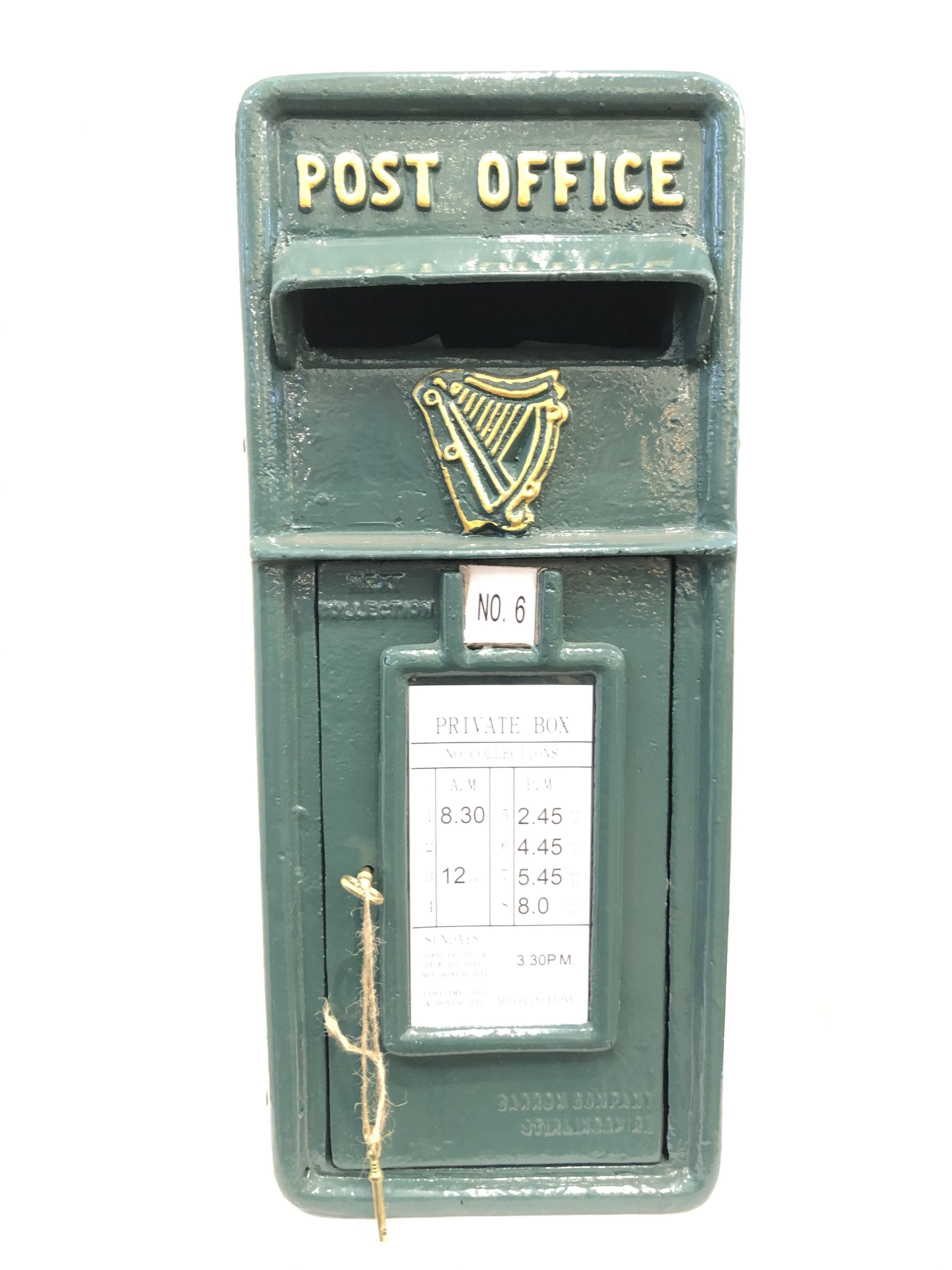 IRISH GREEN POST BOX