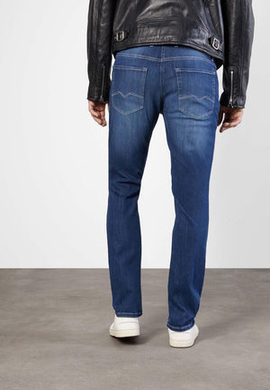 MACFLEXX DENIM JEAN - DEEP BLUE VINTAGE (4580843356237)