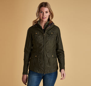 BARBOUR LIGHTWEIGHT FILEY WAX WOMEN'S JACKET
