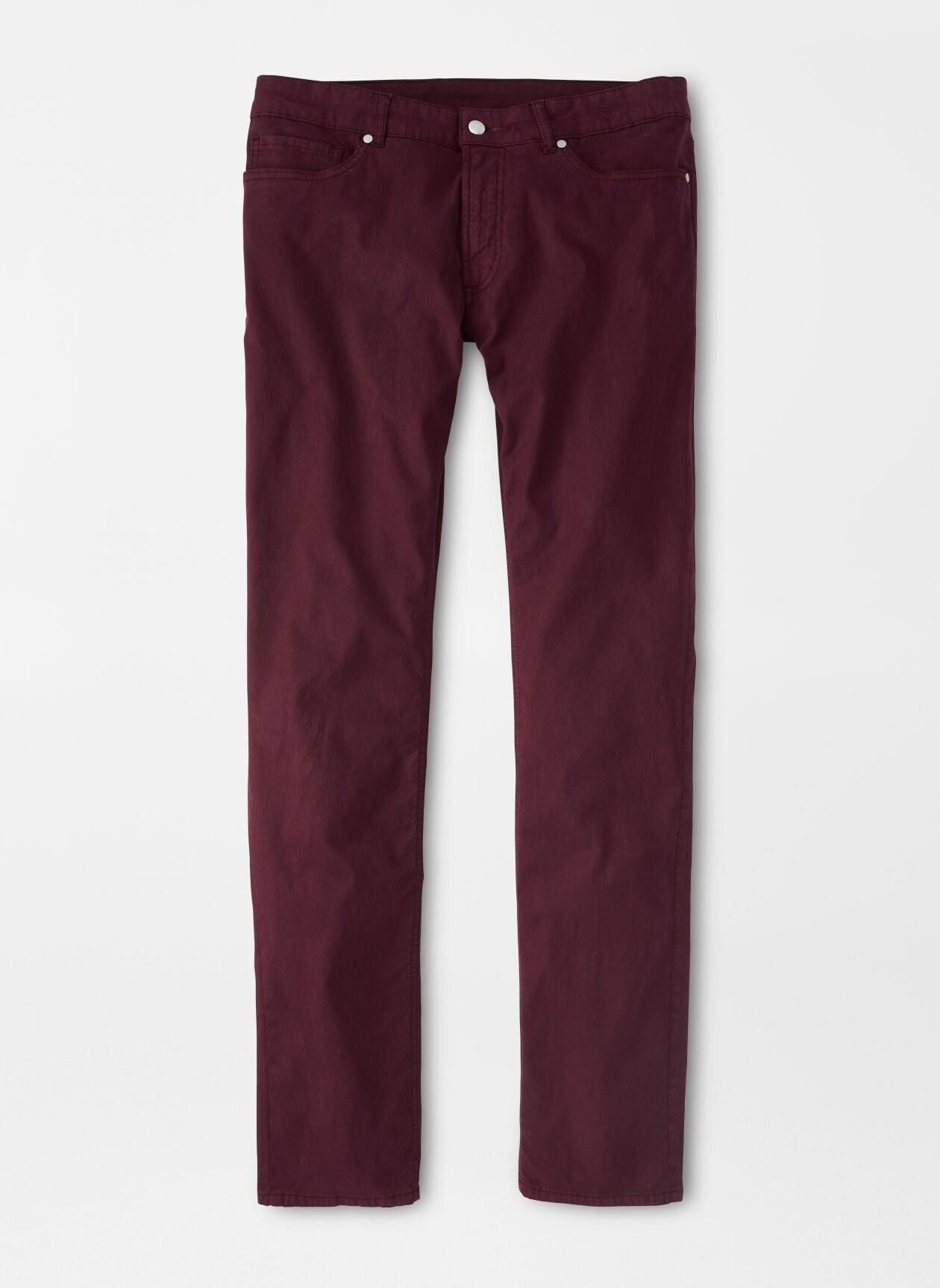 PETER MILLAR FIVE POCKET TROUSER - ELDERBERRY