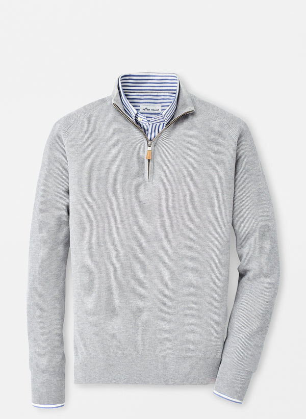 Ribbed Quarter-Zip Sweater (4578800861261)