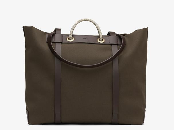 MISMO M/S SEASIDE - ARMY/DARK BROWN