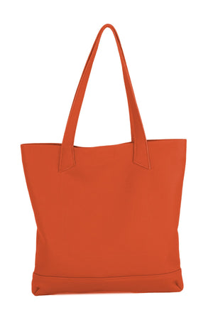 ORSYN MAGAZINE TOTE BAG - PAPAYA