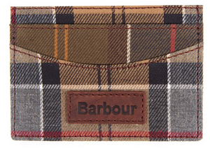 BARBOUR MIXED TARTAN CARD HOLDER (4579950788685)