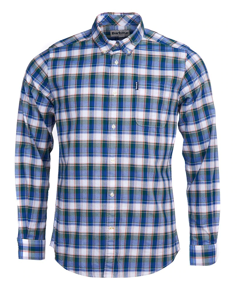 BARBOUR COUNTRY CHECK 7 TAILORED MEN'S SHIRT (4580047159373)