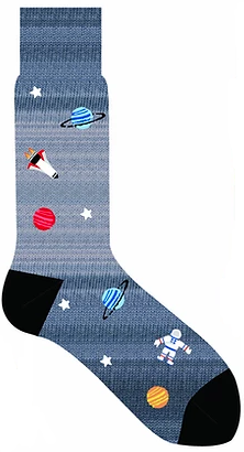 LORENZO UOMO SPACE CALF SOCK