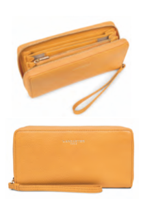 LANCASTER DUNE WRISTLET WALLET - 4 COLOR OPTIONS