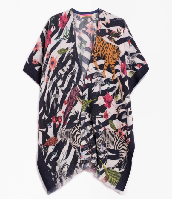 VILAGALLO JUNGLE PONCHO