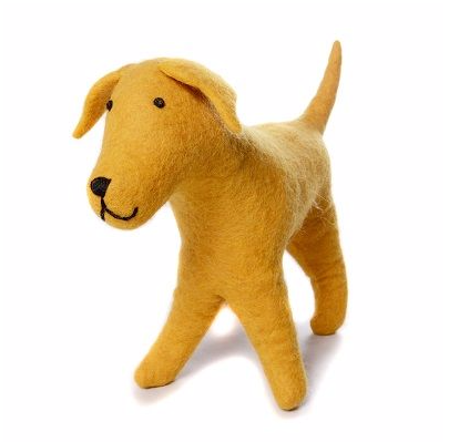 AMICA FELT GOLDIE THE GOLDEN LABRADOR
