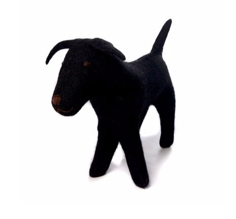 AMICA FELT JET THE BLACK LABRADOR