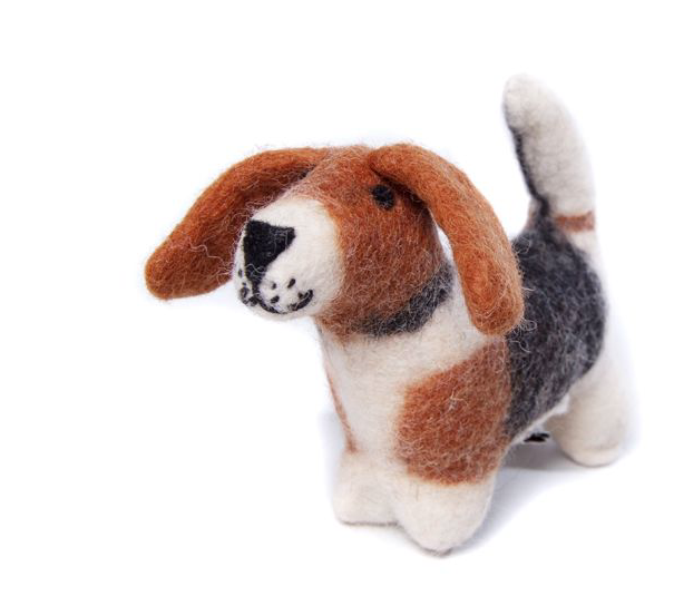 AMICA FELT BERTRUM THE TOY BASSET