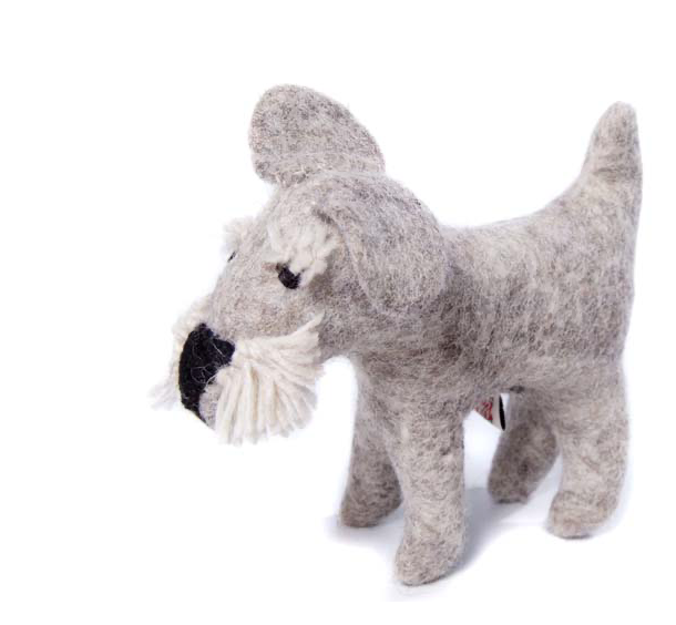 AMICA FELT SHEILA THE TOY SCHNAUZER
