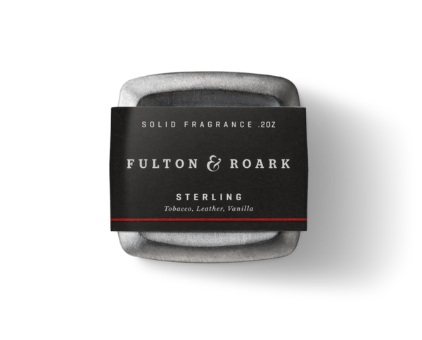 FULTON & ROARK SOLID COLOGNE - STERLING